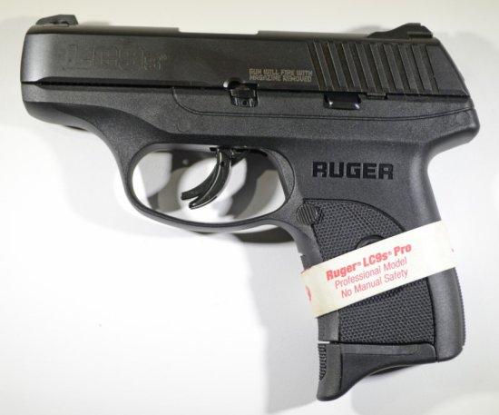 Ruger LC9s Pro-Semi Auto Pistol 9mm. New in box.
