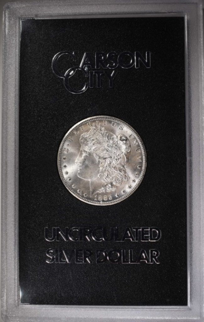 1885-CC MORGAN DOLLAR GSA - GEM BU