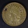 1864 CN INDIAN HEAD CENT CH AU