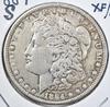 1884-S MORGAN DOLLAR, XF/AU