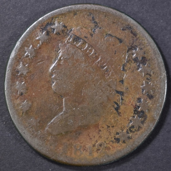 1812 LARGE CENT GOOD