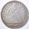 1871 SEATED LIBERTY DOLLAR XF