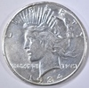 1934-S PEACE DOLLAR, CH AU