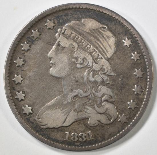 1831 BUST QUARTER XF