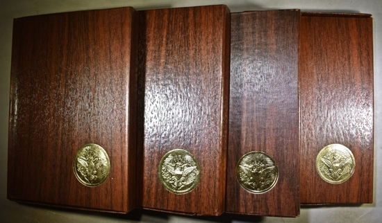 4 PROOF EISENHOWER DOLLARS  OGP