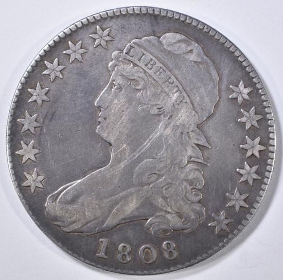 1808 BUST HALF DOLLAR VF/XF