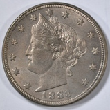 1883 NO CENTS LIBERTY NICKEL  CH/GEM BU