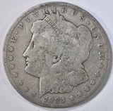 1884-CC MORGAN DOLLAR  VG