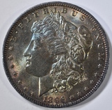 1896 MORGAN DOLLAR  CH BU  COLOR