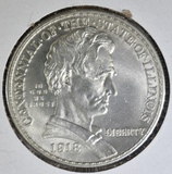 1918 LINCOLN COMMEM HALF DOLLAR  BU
