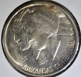 1935-D ARKANSAS COMMEM HALF DOLLAR  BU