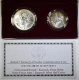 1998 KENNEDY COMMEM 2 PIECE SET