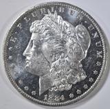 1884-O MORGAN DOLLAR  CH BU DMPL