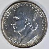 1937 BOONE COMMEM HALF DOLLAR  GEM BU