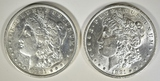 1891 BU & 91-S AU/BU MORGAN DOLLARS
