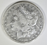 1892-S MORGAN DOLLAR  VF+