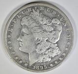1895-S MORGAN DOLLAR  F/VF