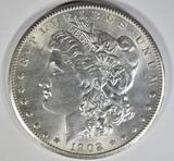 1902-S MORGAN DOLLAR  CH BU