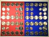 2-2007 & 2-2008 U.S. MINT UNCIRCULATED SETS