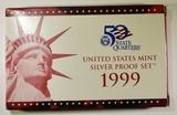 1999 U.S. SILVER PROOF SET