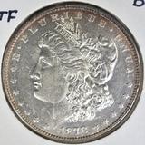 1878 8TF MORGAN DOLLAR  BU