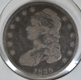 1835 BUST HALF DOLLAR  FINE