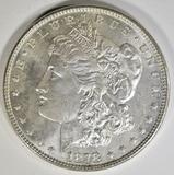 1878 7TF REV 78 MORGAN DOLLAR BU