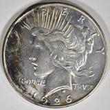 1926-D PEACE DOLLAR CH BU