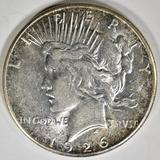 1926-S PEACE DOLLAR AU/BU