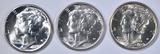 1939-P,D 40-D MERCURY DIMES  AU-CH/GEM BU
