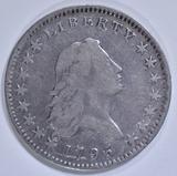 1795 BUST HALF DOLLAR  VF