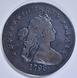 1798 BUST DOLLAR  SM EAGLE, 13 STARS