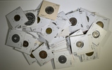LOT OF 50 MIXED TRANSIT TOKENS