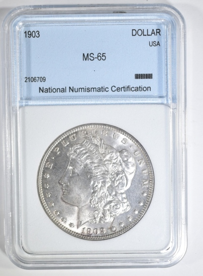 1903 MORGAN DOLLAR NNC GEM BU