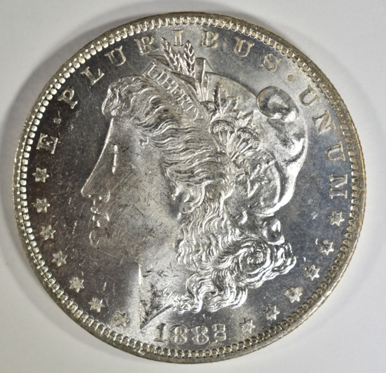 1882-O MORGAN DOLLAR CH/GEM BU