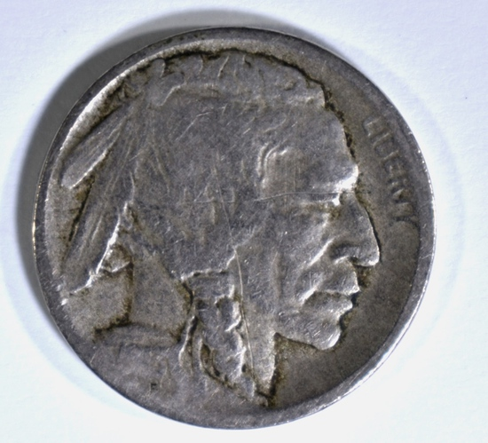 1913-D TYPE-2 BUFFALO NICKEL, VG