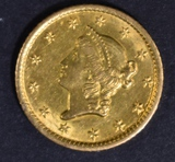 1851-O $1 GOLD LIBERTY  CH UNC
