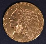 1910 $5 GOLD INDIAN  CH/GEM UNC