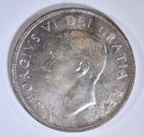 1951 CANADA DOLLAR  GEM BU PL