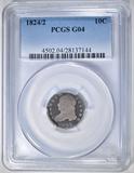 1824/2 BUST DIME  PCGS G-04