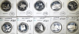 10 SILVER STATE QUARTERS: