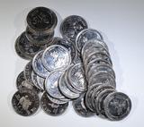 LOT OF 35 CARIBOU CARNIVAL DOLLAR TOKENS