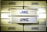 12- USED NGC PLASTIC CONTAINERS WITH LIDS-EMPTY!