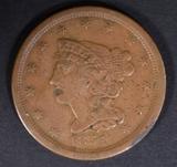 1851 HALF CENT VF/XF