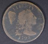 1795 LARGE CENT G/VG
