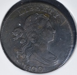 1800 LARGE CENT XF