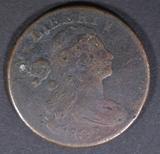 1802 LARGE CENT G/VG