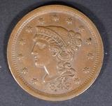 1849 LARGE CENT AU