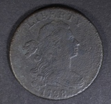 1798 LARGE CENT VF/XF CORROSION