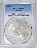 1900 LAFAYETTE DOLLAR  PCGS MS-64